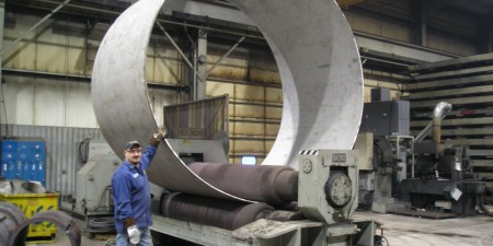 Large Diameter Plate Rolled Cylinder